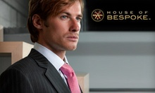 One Custom Suit, or Two Custom Suits and Two Custom Shirts from House of Bespoke (Up to 54% Off)