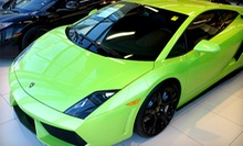 Lamborghini or Ferrari Agility-Autocross Experience from The Motorsport Lab (82% Off). 18 Dates Available.