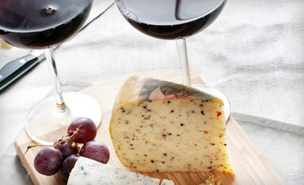 Tasting with Cheese and Cracker Pairing, or $9 for $18 Worth of Bottled Wine at Cascade Winery