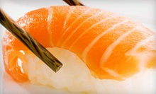 Sushi and Japanese Cuisine for Dinner or Lunch at Daimatsu Japanese Sushi Bar (Up to 55% Off)