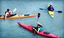 Rental of One or Two Kayaks or Paddleboards, Tandem Kayak, or Canoe at High Trails Canoe and Kayak Outfitters (Half Off)