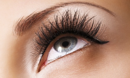 One Partial or Full Set of Lash Extensions with Optional Fill at Luxe Salon and Spa (Up to 52% Off)
