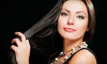 Global Keratin Hair-Smoothing Treatment with Optional All-Over Color at Dolce' Vita Salon & Spa (Up to 60% Off)