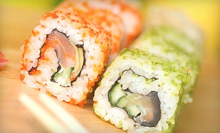 $20 for $40 Off Your Bill at Sushi Japan