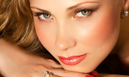 Permanent Makeup on Upper and Lower Eyelids, Eyebrows, or Lips at Endless Look (Up to 86% Off)