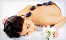 $49 for a Hot-Stone Massage, Hand and Foot Exfoliation, and Hydration Treatment at Organic Spa Girl ($105 Value)