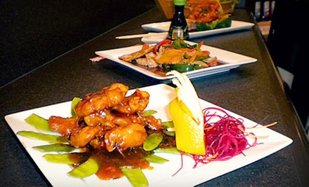 One or Two Groupons, Each Good for $30 Worth of Asian Fusion Dinner Cuisine at Sweet Ginger Asian Bistro (Half Off)