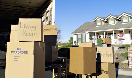 Two Hours of Moving Services with Two Movers and a Truck from Top Dog Moving, Storage and Logistics (51% Off)