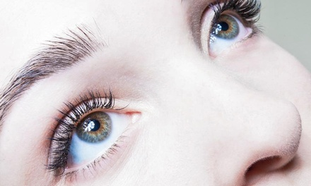 Flare Lash Extensions with Refill, Natural Extensions, or Brow Shaping at The Lash Lounge Studio (Up to 50% Off)