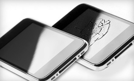Glass Repair for an iPhone 3G, 3GS, 4, or 4S or $20 for $40 Worth of Phone or Computer Repair at Cell Phones and More