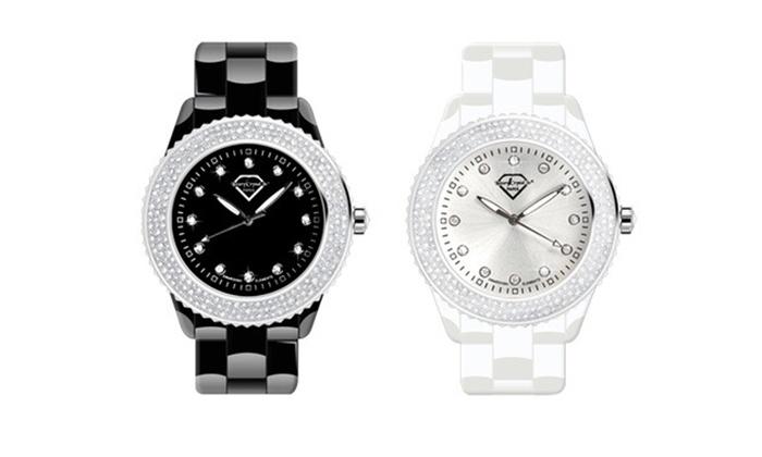 Relógio com Swarovski Elements por 29,99€ ou dois por 54,99€