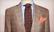 Custom Suit with One Year of Alterations and Option for Two Custom Dress Shirts from Sartoria Ambrosiana (Up to 57% Off)