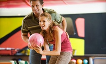 Bowling Outing for Four or Eight with Shoe Rental, Pizzas, and Soda at Sunset Recreation Bowling Lanes (66% Off) 