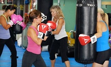 One or Two Months of Unlimited Boxing or Kickboxing Classes with Hand Wraps at Warrior Boxing (Up to 71% Off)