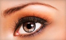 Permanent Makeup for Upper or Lower Eyelids or for Eyebrows at Bella Vidas (Up to 63% Off)