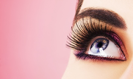 Regular or Glitter Eyelash Extensions with Optional Touchup  at Lash Out Loud (Up to 62% Off)