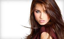 Haircut Package with Optional Color or Partial or Full Highlights at Bugsy's Hair at Lakeside Salon (Up to 60% Off)