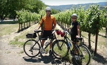 $47 for a Self-Guided Napa Valley Tour by Electric Bike with a Cheese Plate from Napa Valley Adventure Tours ($95 Value)