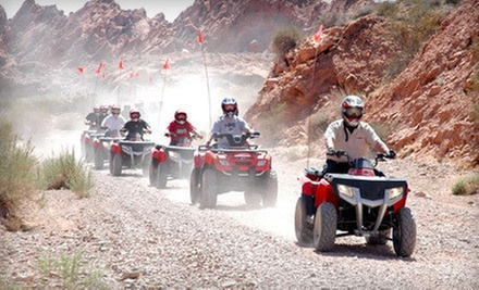 $85 for a Three-Hour Valley of Fire ATV Adventure from Adrenaline ATV Tours ($170 Value)