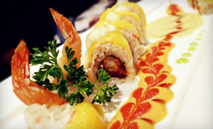 $10 for $20 Worth of Lunch at Hana Steak Seafood & Sushi