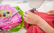 One or Four Beginner Sewing Classes at The Sewing Studio (Up to 58% Off)