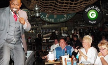 $45 for a Comedy Show and Pre-Fixe Meal for Two at Captain Briens Seafood &amp; Raw Bar (Up to $91.96 Value)
