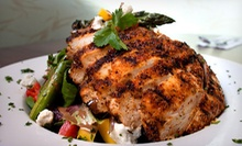 Contemporary American Cuisine at Coogie's Beach Cafe (52% Off). Two Options Available.