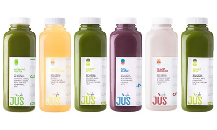 Three-Day Juice Cleanse for One or Two with Shipping Included from Jus by Julie ( 36% Off )