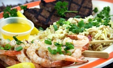 Steaks, Burgers, and Seafood for Two or Four at Dessy B's Steakhouse (Half Off)