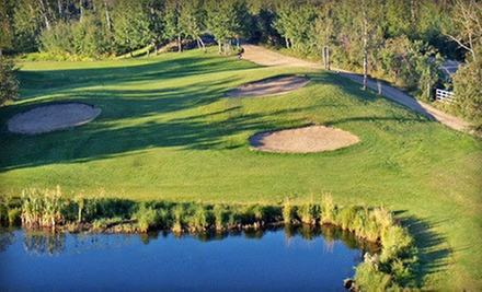 Golf Outing for Two or Four with Range Balls at Whispering Pines Golf & Country Club Resort in Pinelake (Up to 58% Off)