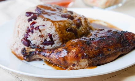 Dine-In Meal for Two or Four or $14 for $20 Worth of Takeout Food from Montego Caribbean Restaurant