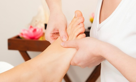 60-Minute Reflexology with Optional Reiki Session from Escape Spa and Salon (Up to 52% Off)