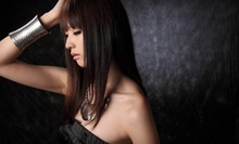 Haircut and Deep Conditioning with Option for Half-Head Highlights at StudioSu (Up to 63% Off)