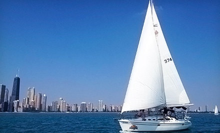 Semiprivate Sail or Season of Sailing for Two from Chicago Sailboat Charters (Up to 62% Off). Three Options Available.