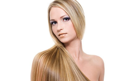 $132 for One Brazilian Blowout from Angie at Old Hollywood Hair ($275 Value)