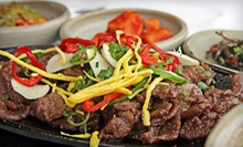 Authentic Korean Dinner for Two or Four at Korea House (Half Off) 