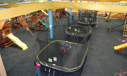 Six Playground Visits or a Two-Hour Birthday Party for Up to 15 Kids at Recreations Outlet (Up to 54% Off)