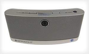 Spracht Aura Blunote Portable Wireless Speaker With Mic