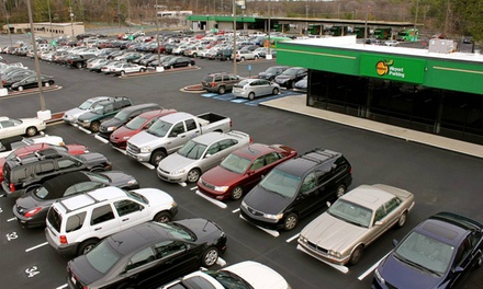 2, 4, 6, or 10 Consecutive Days of Indoor Parking at Peachy Airport Parking (Up to 27% Off)