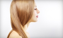 One or Three Keratin Express Blowouts or One Permanent Keratin Treatment at Hot Heads Salon (Up to 57% Off)