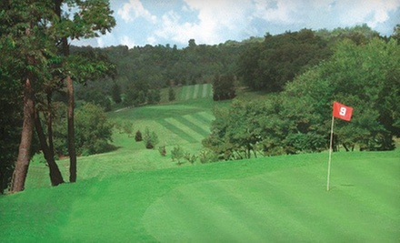18-Hole Round of Golf with Cart Rental for Two or Four at Maple Crest Golf Course (Up to 55% Off)