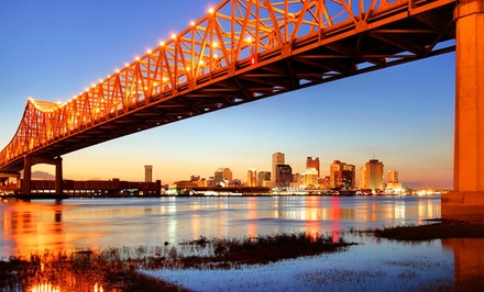 groupon daily deal - Stay at Wyndham Garden Baronne Plaza in New Orleans, with Dates into September