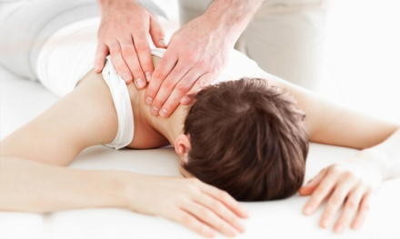 $49 for a Chiropractic Exam, Consultation, and 60-Minute Massage at Progressive Health Center ($240 Value)