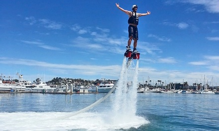 30-Minute Flyboard Flight Experience for One or Two on Weekdays or Weekends at Aquatic Aviation (Up to 50% Off)