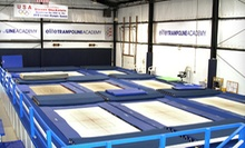 One-Hour of Open-Gym Time for Two or Four, or Four Lessons at Elite Trampoline Academy (Up to 60% Off)