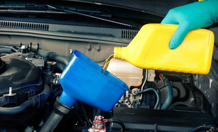 $54 for an Oil Change, Inspection, and Complete Automotive Maintenance Package at Gerry&#x27;s Automotive ($266 Value) 