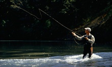 Three-Hour Fly-Fishing Lesson for One or Two with Equipment at Fishlander Pontoons and Custom Tackle (Up to 57% Off)