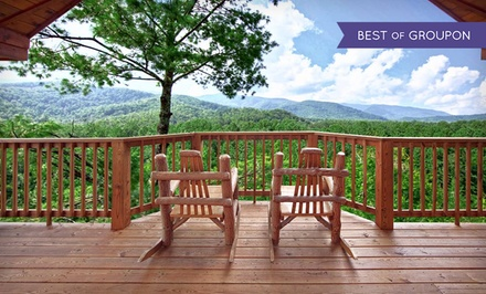 groupon daily deal - 2-Night Stay in a One-, Two-, Three-, Four-, or Five-Bedroom Cabin for Up to 20 at Elk Springs Resort in Gatlinburg, TN
