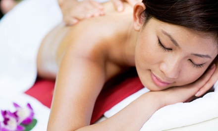 $39 for One 60-Minute Hot Stone Massage with Aromatherapy at A&A Energii ($95 Value)