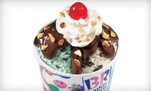 $10 for Five Groupons, Each Good for $4 Worth of Ice Cream, Cakes, and More at Baskin-Robbins ($20 Total Value)
